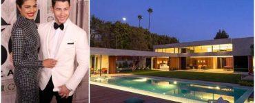 Nick Jonas and Priyanka Chopra along with their house