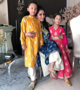 Sanjay dutt's wife and kids