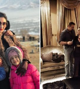 Sanjay Dutt along with his family