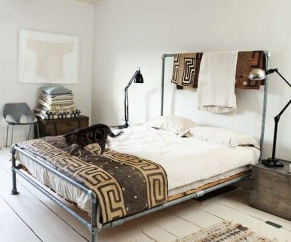 A beautiful spacious bedroom with