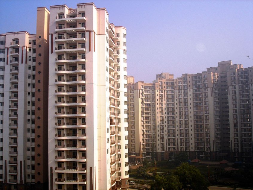 North India's tallest residential building