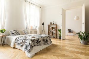 Pattern wooden flooring