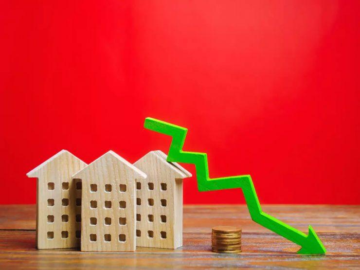 house sales drop