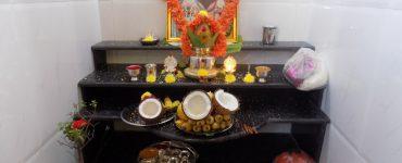 Pooja room according to Vastu Shastra