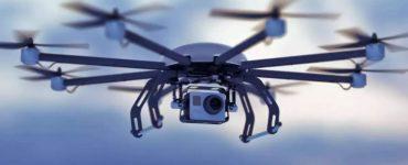 Drone survey in Aravali hills