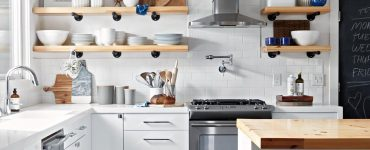 15 Clever and Modern hacks to make a small kitchen look bigger